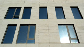 Modern building, Lisbon, Portugal Royalty Free Stock Images