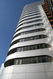 Modern building in London. A rather nice modern apartment building in Paddington London stock photo