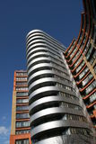 Modern building in London. A rather nice modern apartment building in Paddington London Stock Images