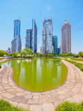 The modern building of the lujiazui financial centre in shanghai Stock Photography