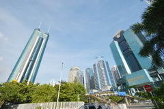 Modern building Luohu Financial Center Royalty Free Stock Image