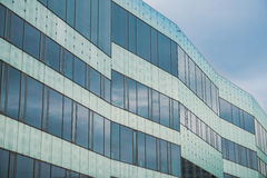 Modern building in Malmo, Sweeden Stock Images