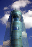 Modern building in Manchester. Curved glass exterior of Urbis Building in Manchester, UK Stock Photo