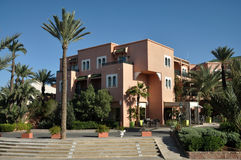 Modern building in Marrakech Royalty Free Stock Image