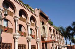 Modern building in Marrakech Royalty Free Stock Images