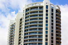 Modern building in Miami Beach Florida Royalty Free Stock Photo