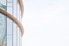Modern building mirror facade Stock Photos