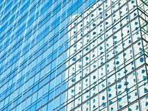 Modern Building Mirror Reflection Royalty Free Stock Photo