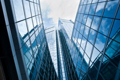 Modern building: new palazzo Lombardia in Milan Royalty Free Stock Photos