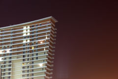 Modern building at night Royalty Free Stock Photography