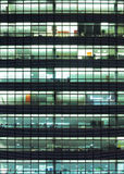 Modern building at night Stock Images