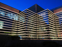 Modern Building at Night royalty free stock image