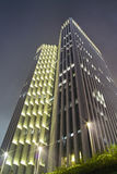 Modern building at night time Royalty Free Stock Photography