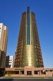 Modern building on Nurzhol Boulevard in Astana. Kazakhstan Royalty Free Stock Photo