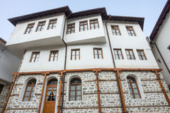Modern building in the old Melnik, Bulgaria Stock Image