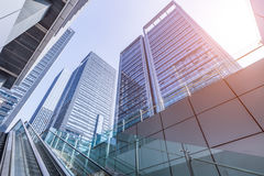 Modern building outdoors royalty free stock image