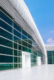Modern building with panoramic window Royalty Free Stock Photo