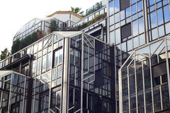 Modern Building in Paris, France Royalty Free Stock Image