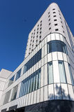 Modern building of part closeup in Poland Stock Photo