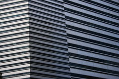 Modern Building Pattern Royalty Free Stock Photos