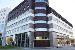 Modern building in Pinsk, Belarus Stock Image