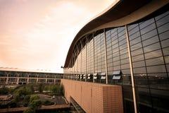 Modern building at pudong airport Royalty Free Stock Photo