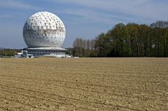 Modern Building, Radar dome Radom, Germany Royalty Free Stock Photography