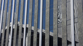 Modern Building Reflection Royalty Free Stock Photography