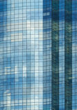 Modern Building with Reflection of Sunlight. Close up Royalty Free Stock Photos