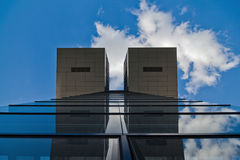 Modern building with reflections Royalty Free Stock Image