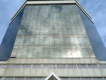 Modern Building, Reflective Glass Facade Royalty Free Stock Photography