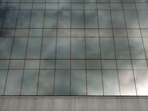 Modern Building, Reflective Glass Facade Stock Photos