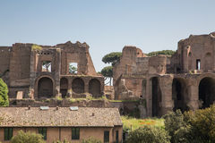 Modern Building by Roman Forum Stock Photography