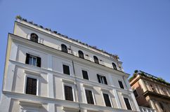 Modern building Rome Royalty Free Stock Photos
