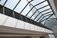 Modern building roof Royalty Free Stock Image