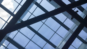 Modern building roof Stock Photo