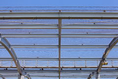 Modern building roof Royalty Free Stock Photos