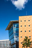 A modern building in Rostock Stock Image