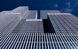 Modern building in Rotterdam, Rem Koolhaas office towers. stock images