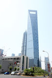 Modern building in shanghai Royalty Free Stock Image
