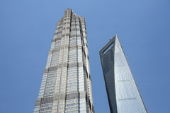 Modern building in shanghai Royalty Free Stock Images
