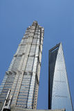 Modern building in shanghai Royalty Free Stock Photos