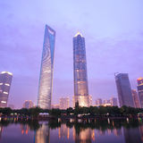 Modern building in shanghai Royalty Free Stock Photography