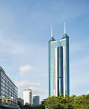Modern building in shenzhen city Royalty Free Stock Photo