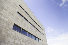 Modern building and sky Royalty Free Stock Images