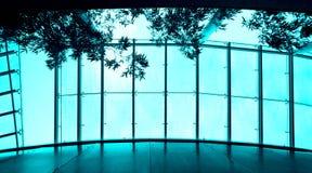 Modern building skylight Stock Image