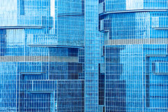 Modern building skyscrapers Stock Photos