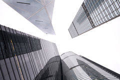 Modern building skyscrapers of business center Stock Photography