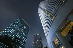 Modern building skyscrapers of business center Royalty Free Stock Image