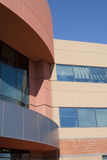 Modern building southwest Adobe. Modern building in southwest Adobe style tradition, southwest USA Stock Images